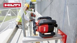 Download HOW TO align facades vertically with the Hilti PR 30-HVS rotating laser level Video