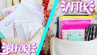 Download Backpack Organization Tips + Advice | How To Stay Organized Throughout the School Year Video