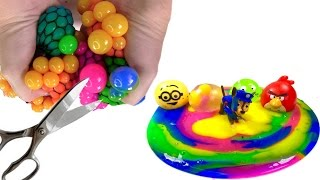 Download Open ALL the Stress Balls Full of Slime Video