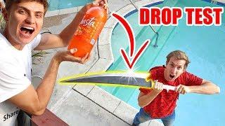 Download NINJA WEAPON SODA DROP TEST!! Video