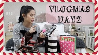 Download VLOGMAS Day2: Singapore Haul + Wrapping Christmas Gifts | Anna Cay Video
