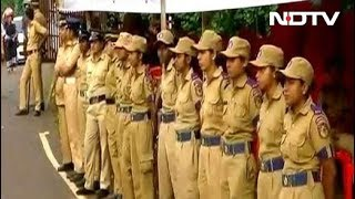 Download Heavy Police Including Women Personnel Deployed At Sabarimala Base Camp Video