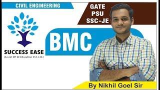 Download Lec-02   BMC By Nikhil Sir   Civil Engg.   GATE   PSU   SSC JE    SUCCESS EASE    Video