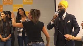 Download Racist Heckler Interrupts Jagmeet Singh Town Hall Video