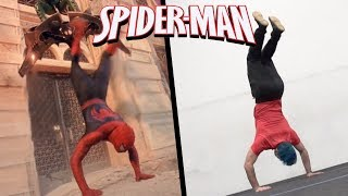 Download Stunts From Spiderman In Real Life (Marvel, Avengers, Parkour) Video