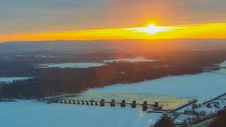 Download Great Spirit Bluff Falcons - Cliff View Cam 01-18-2018 05:38:12 - 06:38:13 Video