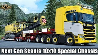 Download ✅ [ETS2 1.31] Next Gen Scania 10x10 Special Chassis Heavy Load Video