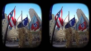 Download New York City in 3D virtual reality. Video