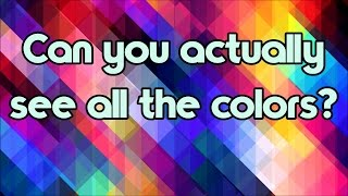 Download Color Blind Test - Can You Actually See All The Colors? Video