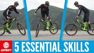 Download Five Essential Skills To Master On Your Mountain Bike Video