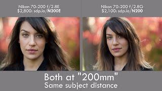 Download Nikon 70-200 f/2.8E Review: Portrait Game Changer! (vs f/2.8G & Canon) Video