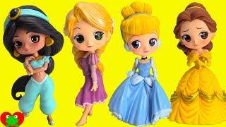 Download Disney Princess QPosket Cinderella, Belle, Rapunzel, Jasmine Video