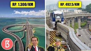 Download Bikin Dompet Kering Untuk Melewatinya! Perbedaan Jalan Tol Indonesia, Malaysia, Dan China Video
