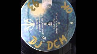 Download MARGEN XXI IT'S MY OWN STYLE late mix DJ DCM VINYL 1993 Video