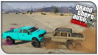 Download GTA 5 Online - ″DUBSTA 6x6″ BEST OFF ROAD VEHICLE? (Dubsta 6x6 vs Sandking) [GTA V Hipster DLC] Video