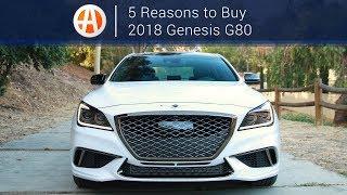 Download 2018 Genesis G80 | 5 Reasons to Buy | Autotrader Video