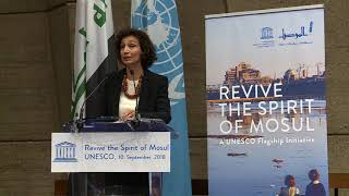 Download Revive the Spirit of Mosul – Speech by the Director General of UNESCO Video