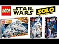 Download Lego Star Wars Han Solo a Star Wars Story 2018 Sets Video