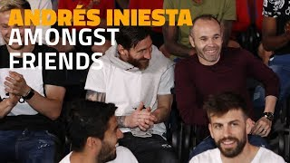 Download Andrés Iniesta amongst friends: football talks Video