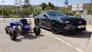 Download Ford Mustang & Yamaha Banshee 350 Top Speed GoPro Onboard Video