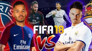 Download £1,000 FIFA 18 WAGER!!! BILLY VS JEREMY | REAL MADRID VS PSG | LG Super UHD Nano Cell TV Video