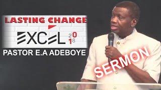 Download Pastor E.A Adeboye Sermon LASTING CHANGE Video