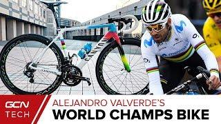 Download Alejandro Valverde's Canyon Ultimate CF SLX World Champion's Bike Video