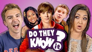 Download DO ADULTS KNOW DISNEY CHANNEL ORIGINAL MOVIES? (REACT: Do They Know It?) Video