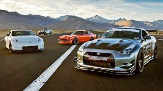 Download SEMA Drag Race: 240Z vs 370Z vs GTR vs Trophy Truck! - 2015 SEMA Week Ep. 5 Video