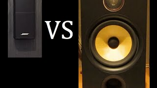 Download Bose Lifestyle 535 Series 3 Vs. Bowers and Wilkins Speakers Video