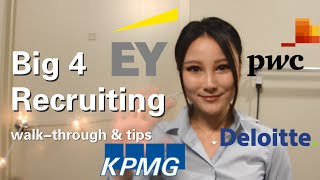 Download Big 4 Accounting Firms Recruiting for Undergraduates | experience, tips and advice Video