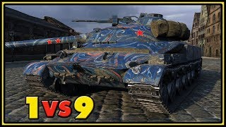 Download Object 907 - Epic Ending - 1 VS 9 - World of Tanks Gameplay Video