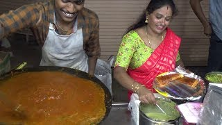 Download Happy Smily South Indian Family Selling Butter Pav Bhaji | Only 50 Rs Per Plate Video