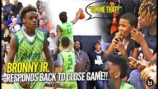 Download LeBron James Jr. CHASEDOWN BLOCK!! North Coast Blue Chips Get TESTED in Debut at Dru Joyce Classic!! Video