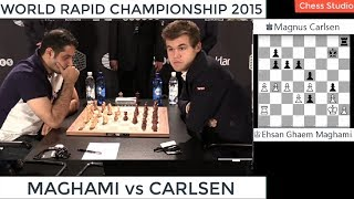 Download EXCITING ROOK ENDGAME!!! CARLSEN vs MAGHAMI | WORLD RAPID CHAMPIONSHIP 2015 Video