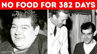 Download A Man Who Refused to Eat for 382 Days and Lost 275 Pounds Video