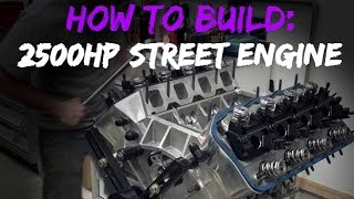 Download How to build a 2500hp street engine!! Video