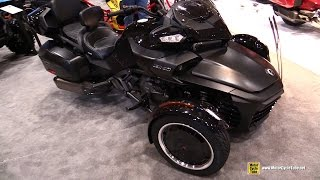 Download 2017 Can Am Spyder F3 T - Walkaround - 2017 Toronto Motorcycle Show Video