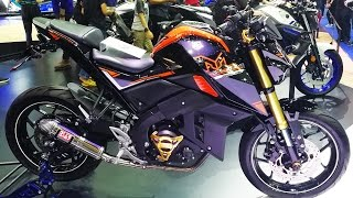 Download Yamaha M-Slaz 2017 motor show Video