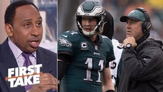 Download Stephen A. questions if Doug Pederson is Carson Wentz's biggest problem | First Take Video