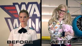 Download Female Pilot Surprises Flight Instructor - Maxmantv Video