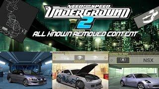NFS Underground 2: Beta Drift and Street X modes Free