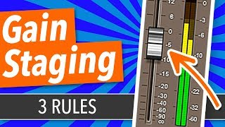 Download Gain Staging: The 3 Rules You Need To Know - BehindTheSpeakers Video