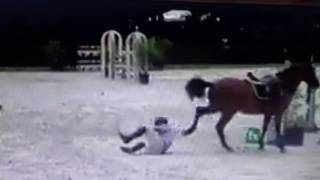 Download More Abusive Horse Sports Failures - Kick In The Head & Always Check Your Cinch Video