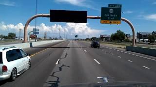 Download BigRigTravels Classics-I-25 North from Albuquerque through Santa Fe, New Mexico-Aug. 4 ,2013 Video