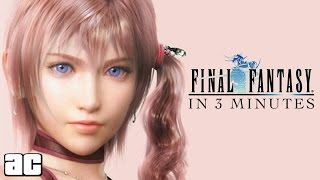 Download ENTIRE Final Fantasy Chronology in 3 Minutes! (Final Fantasy Animation) Video