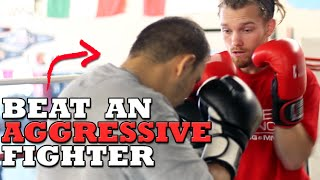 Download How to Beat an Aggressive Fighter - Dirty Boxing Technique Video