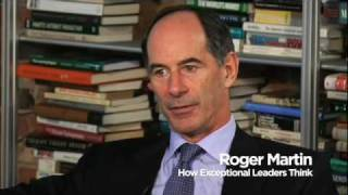 Download Roger Martin on How Exceptional Leaders Think Video