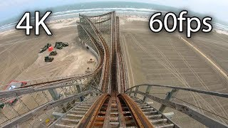 Download Great White front seat on-ride 4K POV @60fps Morey's Piers Video