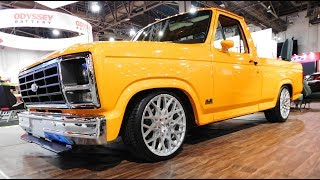Download 1985 Ford F-150 ″Body Swap″ Street Truck The SEMA Show 2016 Video